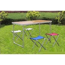 戶外折疊桌椅鋁合金折疊桌便攜式桌子野餐桌擺攤桌宣傳