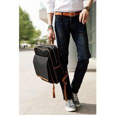 雙肩包男韓版簡約糖果色中學生學院風背包方形輕便書包防水電腦包