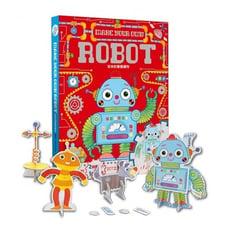 玩具倉庫幼福吉米的驚喜禮物內附diy立體拼圖劇場