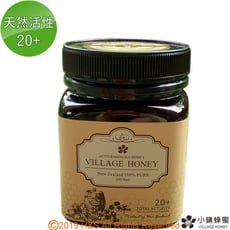 【小鎮蜂蜜】天然活性麥蘆卡蜂蜜20+(250克)