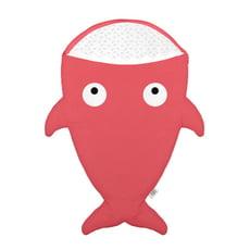 西班牙BabyBites鯊魚咬一口多功能睡袋-嬰幼兒版-紅珊瑚 輕量版
