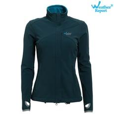 【北歐Weather Report】 寒保暖中層外套 女款 藍綠色 / WB4203-07