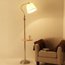 燈 燈具 落地燈 茶几燈 立式檯燈 美式落地燈創意復古客廳d書房客廳臥室床頭沙發置物茶幾燈立式臺燈
