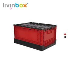 【樹德 livinbox】掀蓋摺疊物流箱 FB-6040L