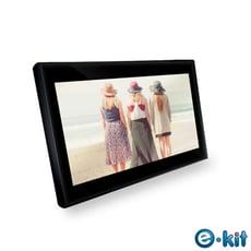 逸奇e-Kit 10吋防刮鏡面數位相框(共兩款)-黑色款 DF-G20_BK