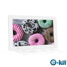 逸奇e-Kit 10吋人體感應數位相框電子相冊(共兩款)-白色款 DF-S10_W