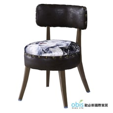 【obis】瑪麗蓮鉚釘皮餐椅