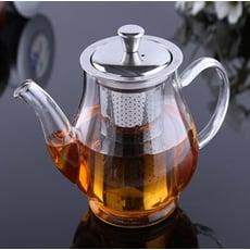 50402-253  茶壺-透明玻璃不鏽鋼內膽泡茶壺450ML