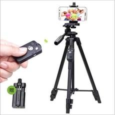 【雲騰】5208 相機/手機三角腳架 相機腳架 手機支架 三角架 藍芽自拍桿 自拍手機架【迪特軍】