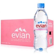 宅配免運 Evian 礦泉水 (500ml*24入)