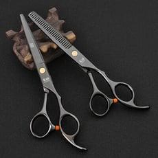【KASHO】專業美髮剪刀組 打薄剪刀+美髮剪刀/組 瀏海剪 打薄剪刀組 剪髮 SG0933