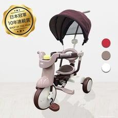 日本iimo 第二代#02 【遮陽款】折疊三輪車