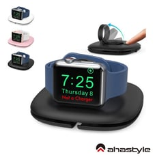 AHAStyle Apple Watch 充電底座 可捲收充電線 旅行便攜充電底座