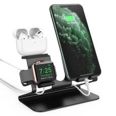 AHAStyle AirPods(Pro)/iPhone/Apple Watch 三合一金屬底座