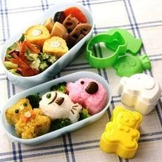 日本 小熊小魚小象飯團模   想購了超級小物