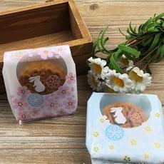 月餅包裝袋  櫻花月兔 自封包裝袋 50g月餅袋 想購了超級小物