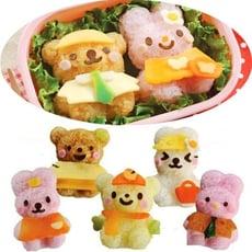 飯團模 小熊小兔換裝娃娃飯團