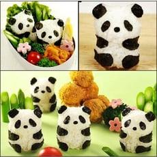 全身熊貓飯團模