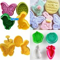 小兔小鳥蝴蝶餅乾模