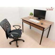 工業風電腦桌 書桌 雙抽屜120公分台灣製 喬艾森