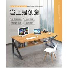 會議桌簡約現代辦公室工作桌家具電腦桌椅組合職員辦公桌 7031