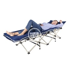 【99網購】加強型免組裝午休床 (加大75公CM床面)+床墊