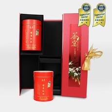 ♛定迎iTQi得獎茶♛ - 茶宴雙入直式茶葉禮盒_台灣蜜香紅茶20g _二入罐裝組