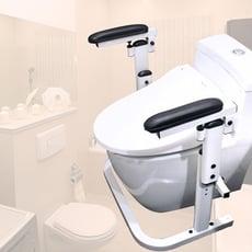 【樂活動】馬桶起身固定扶手.馬桶起身扶手.如廁最佳輔具.廁所無障礙.安全扶手.衛浴輔助