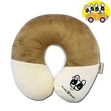 【安伯特】法鬥犬U型枕 頸枕 瞌睡枕 辦公室午睡枕頭 卡通造型圖案 毛絨 車用頭枕