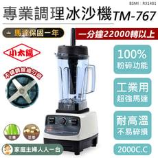 【小太陽專業調理冰沙機-TM767】果汁機 研磨機 豆漿機 電動果汁機 攪拌機 冰沙機 調理機