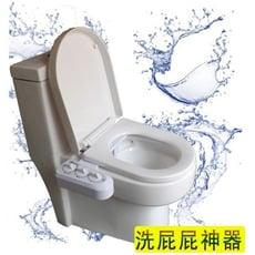 日式簡易多功能環保節能洗屁股免插電免治馬桶座(冷熱型)