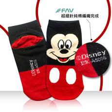 兒童襪/迪士尼系列/米奇/卡通短襪 /棉襪 /雷射標籤 /正版授權 / 型號-793【FAV飛爾美】