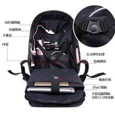 Tigernu防水防盜後背包 可放15吋筆電~7色任選
