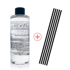 Cocodor經典擴香補充瓶+黑色擴香棒一組