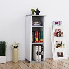 《Accessco》日系雙色三格厚板收納書櫃