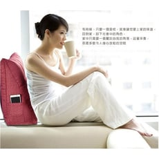 3D立體加長型床頭沙發三角靠枕(170cm)