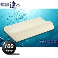 【睡眠達人irest】 恆溫親水性記憶枕頭MC006、專利枕頭密碼程式協助選枕、符合人體工學(1入)
