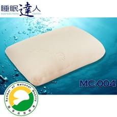 【睡眠達人irest】恆溫親水性記憶枕頭MC004,專利密碼程式協助選枕、SNQ國家品質標章(1入)