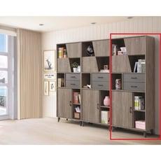【新精品】CE-B475-02 奧蘭多2.7尺系統組合書櫃 台北到高雄 滿三千搭配車趟免運費
