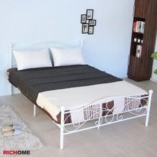 【RICHOME】夢麗5尺雙人床 (經典設計)