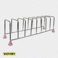 【VICTORY】不鏽鋼陶瓷八格餐盤架#1132001