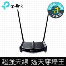 穿牆的 TP-Link TL-WR841HP 300Mbps 天線加強版無線網路wifi路由器高功率
