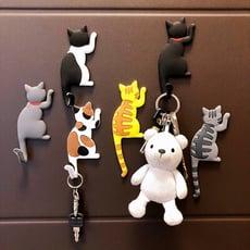 貓咪造型磁鐵掛勾