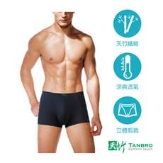 3D立體平口褲 [男士平口褲] [天竹系列-加大版]