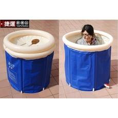 行動折疊充氣泡澡浴桶.成人桑拿蒸氣泡澡排汗充氣加厚充氣摺疊浴缸洗澡盆