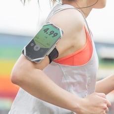 Bone Run Tie 跑步手機綁-彈性矽膠手機運動臂跑步手機臂套