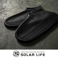 防滑加厚款彈力矽膠防水鞋套XL.矽膠防水鞋套 輕便鞋套 雨鞋套 防水鞋 加厚防雨鞋套