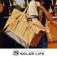 Coleman 裝備托特包/CM-37872/CM-37873.帆布大包包 單肩手提包 手提行李袋