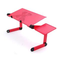 鋁合金床上折疊電腦桌