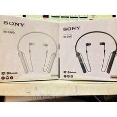 [電子威力] 台灣公司貨保固1年 SONY WI-C400 黑色白色 藍芽耳機 藍牙耳機 耳道式
